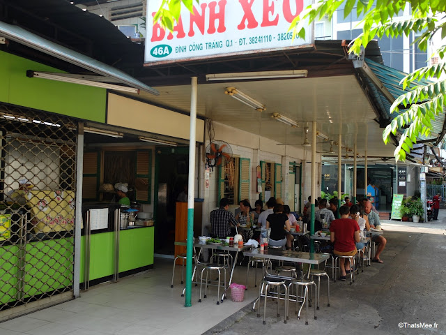 banh xeo 46 a saigon ho chi minh ville city vietnam galette riz curcuma fourrées