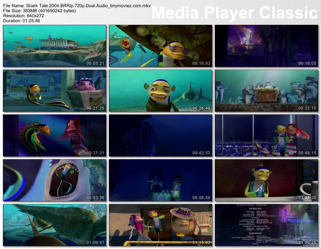 Morrie Wallpaper Shark Tale 2004 Brrip 720p Dual Audio 350mb Mediafire