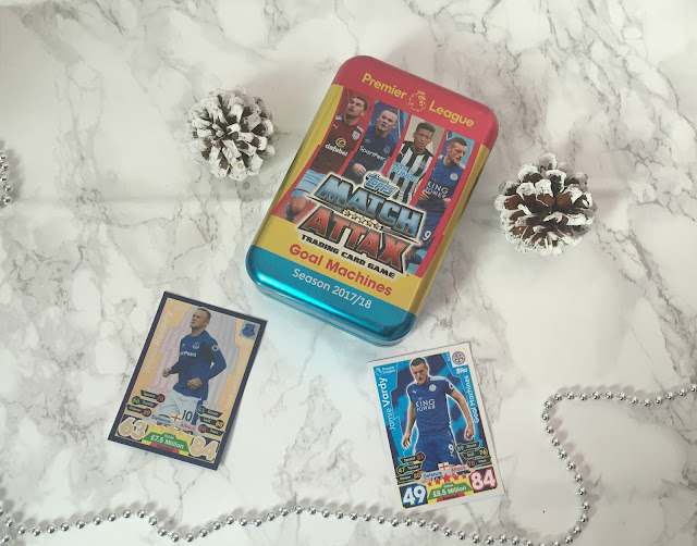 Match Attax tin and cards
