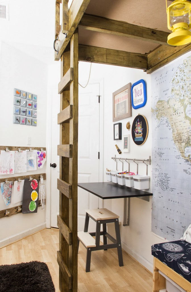 Put Up Your Dukes Our Ikea Kids Room Makeover The Big