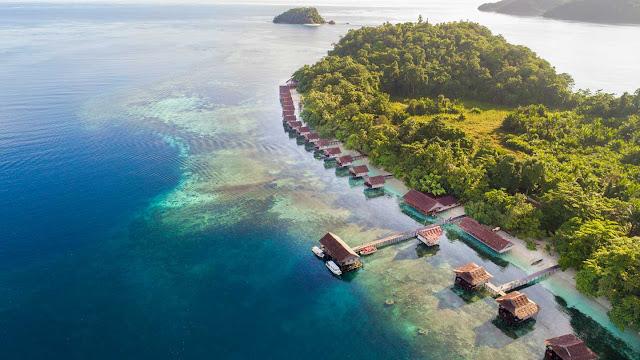 penginapan terapung Papua paradise eco resorts