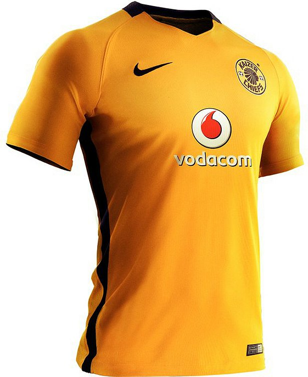 b4a56dfbba O modelo titular é predominantemente amarelo com a cor preta aparecendo na  gola e nas faixas laterais da camisa.