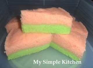 Sponge Cake Keju Kukus