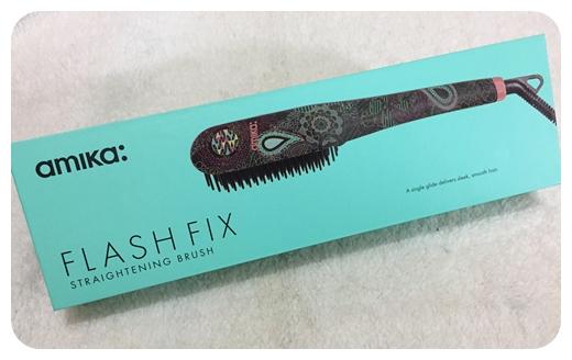 順滑造型神器‧簡易塑造完美髮型 ❤ amika: Flash-Fix 數碼熱能造型梳