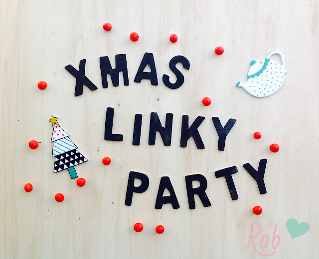 linky party xmas handmade The creative Factory
