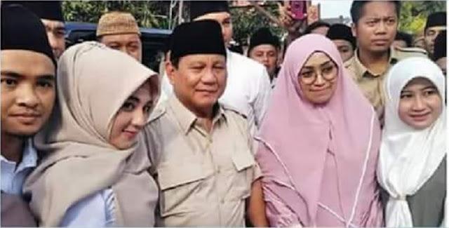 Prabowo Calon Presiden yang Paling Bahagia