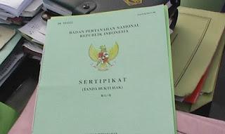 biaya balik nama sertifikat tanah warisan