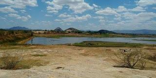 Baixo volume de água no maior açude do Brasil deixa centenas de famílias sem renda