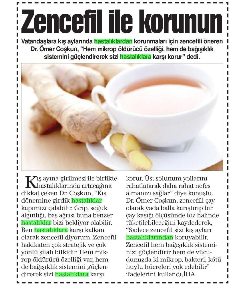 Bu Kış Hastalıklardan Bitki Çayları İle Korunun