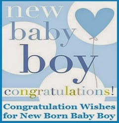 congratulation messages baby boy