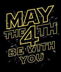 #Maythefourthbewithyou #starwarsday