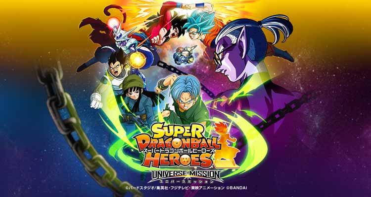 Episodios Super Dragon Ball Heroes