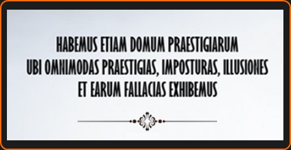 La Casa dels Enganys dels Sentits (Miquel Àngel Arencón Llobet - Toni Arencón Arias) - Habemus etiam domus praestigiarum