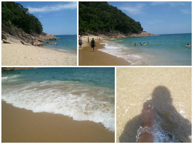 Praia do sununga - ubatuba - belanaselfie