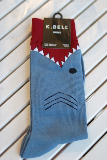 uncommon goods gifts for dads shark socks