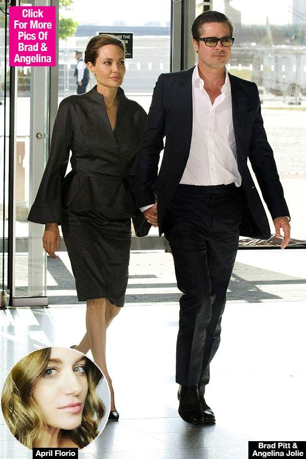 Brad Pitt: Alleged 'Other Woman' In Jennifer Aniston Marriage Talks Angelina Split