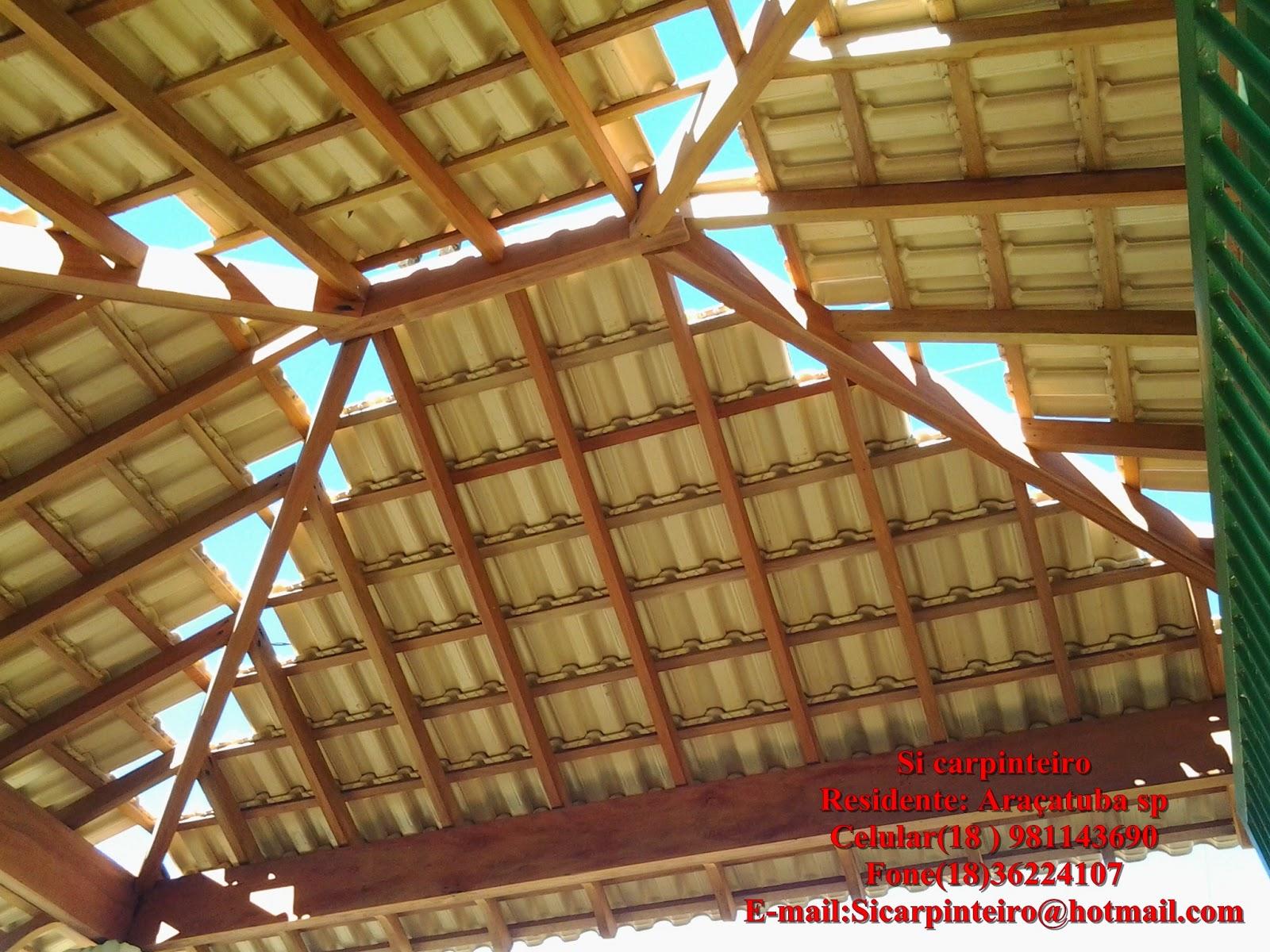 Si carpinteiro: Telhado quatro águas suspenso #0DBDBE 1600x1200