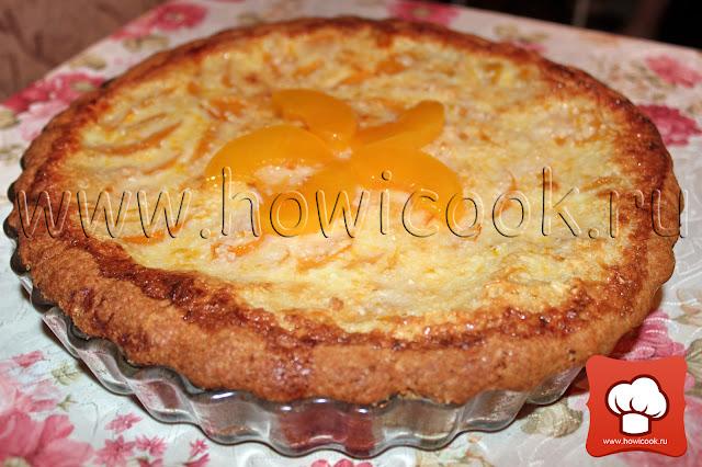 рецепт вкусного пирога с персиками