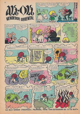 Ali Oli, Tio Vivo 2ª nº 403 (25 noviembre 1968)