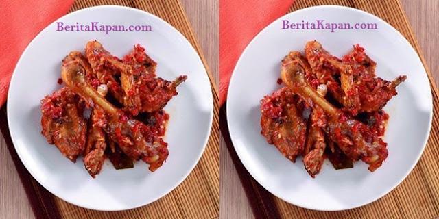 Resep Ayam Goreng Kremes Dengan Sambal Terasi