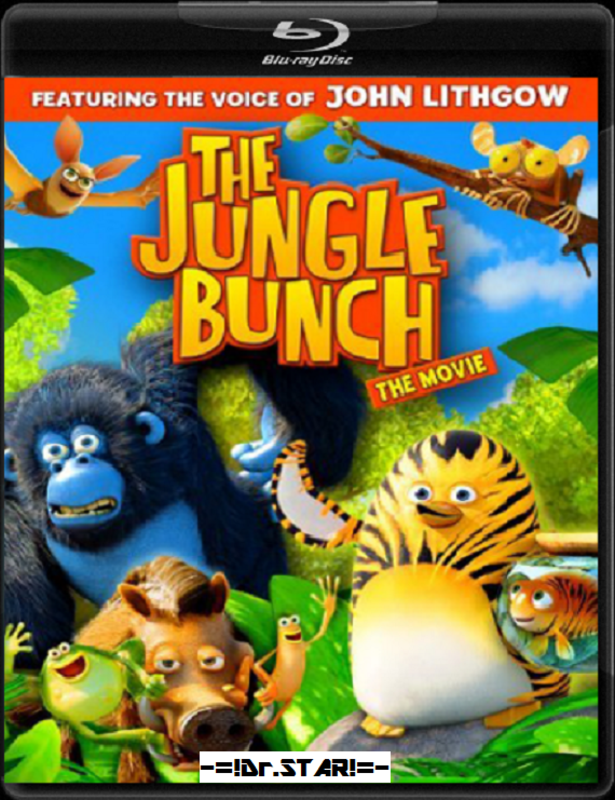 The Jungle Bunch: The Movie (2011) Hindi Dual Audio 720p Blu-Ray 750MB