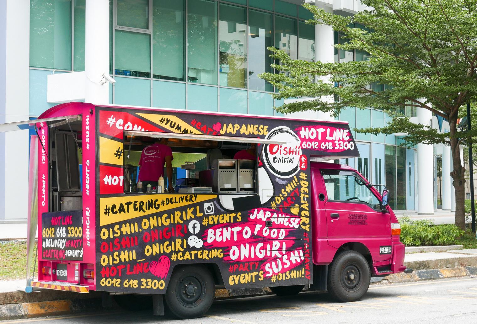 Oishii Onigiri & Laksa Beras Food Trucks