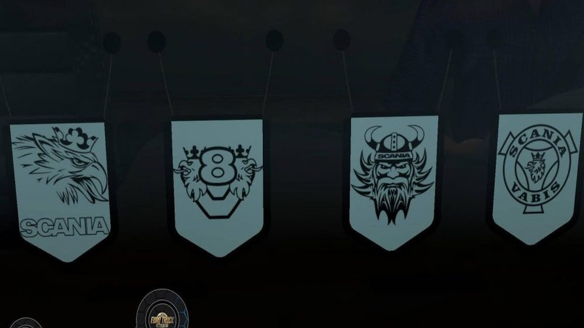 Pennants Pack for Scania
