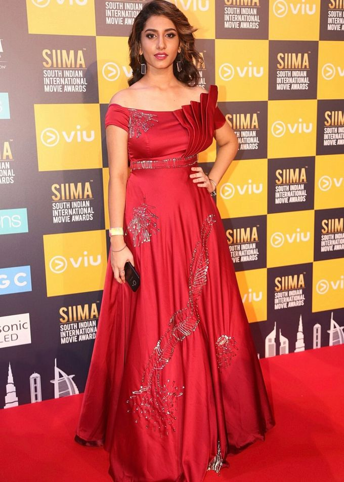 Tollywood Actress Vishnu Priya Bhimeneni Stills at Siima