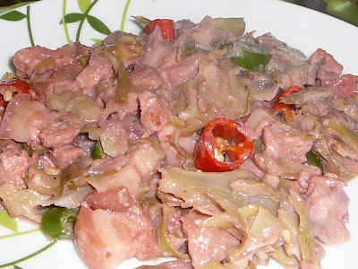 Pork with Artichoke with Coconut Milk