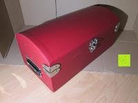 Ecke: Adventskalender als piratige rustikale Schatztruhe - 24 einzelnen Schatzboxen - Ideal für den Advent