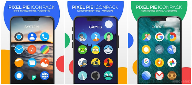 Pixel Pie Icon Pack Full