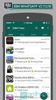 BBM Mod WhatsApp Apk 2.11.0.18 Clone Terbaru [WA]