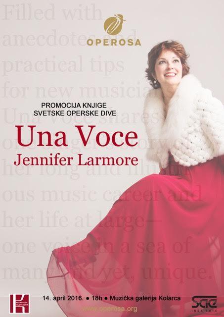 Operska diva Jannifer Lamore stiže u Beograd