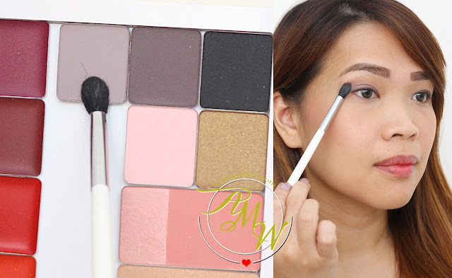 a photo of nikki tiu wearing Inglot Eye Shadow shade 358
