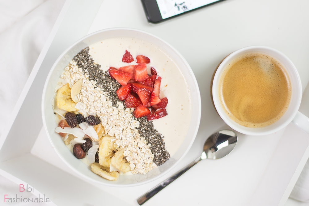 Sunrise Breakfast Bowl Flatlay