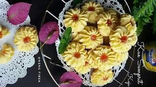 Resep Kue Semprit Keju Spesial Lebaran