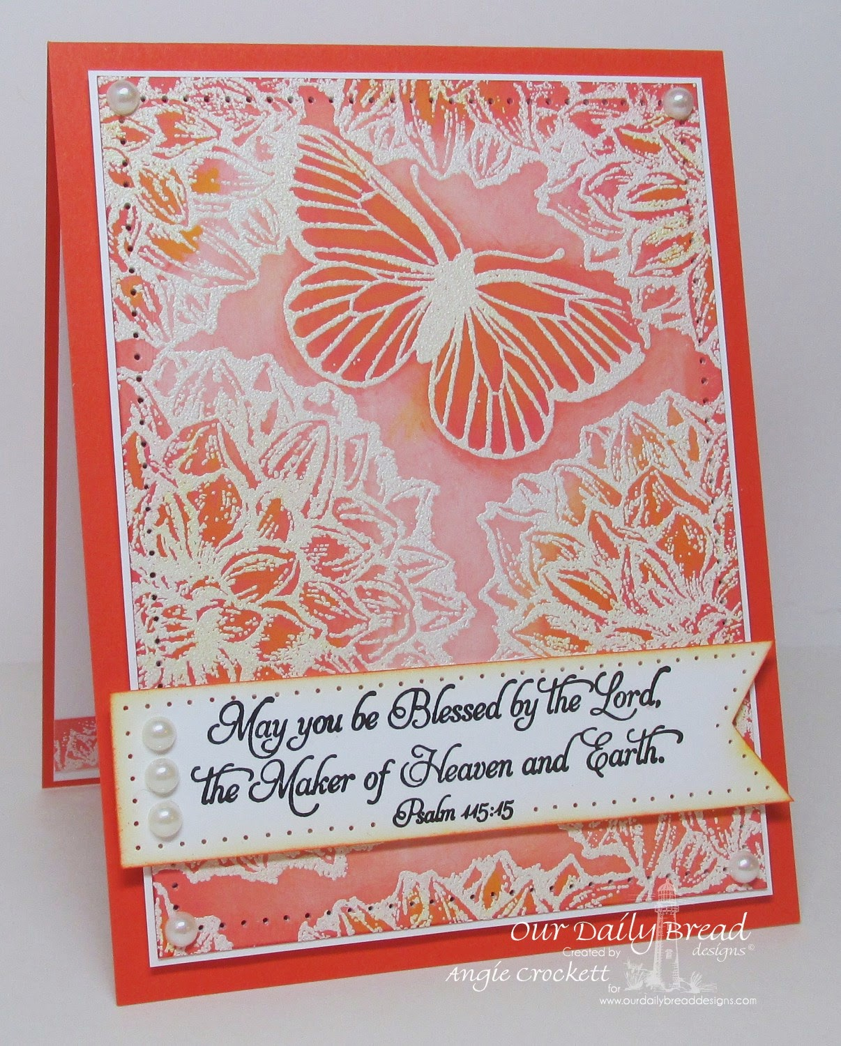 ODBD Dahlia, Butterfly Single, Happy Birthday, Card Designer Angie Crockett