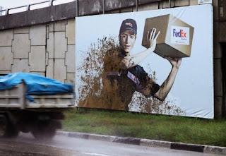 campaña publicitaria fedex