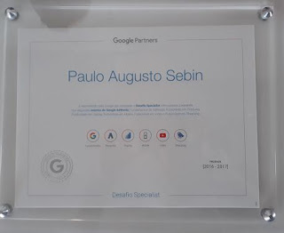 Certificado completo de profissional de marketing digital e Google Adwords