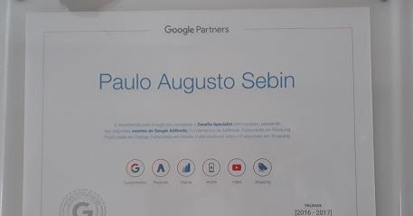 Certificação especialista em marketing digital Google Adwords