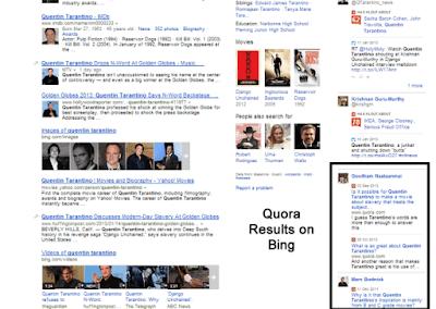 Bing quora conseils pro question reponse