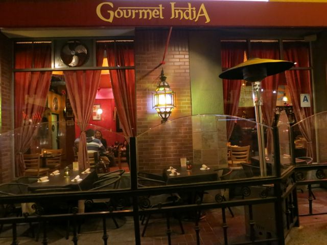Gourmet India Opened Its Doors In May Of 2006 Inside There Is A Warm Feeling Projected By The Red Walls And Deep Draperies