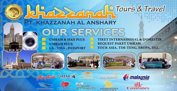 khazzanah tour travel berkualitas di jakarta