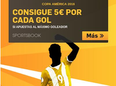 betfair consigue 5 euros por gol maximo goleador copa america 2016