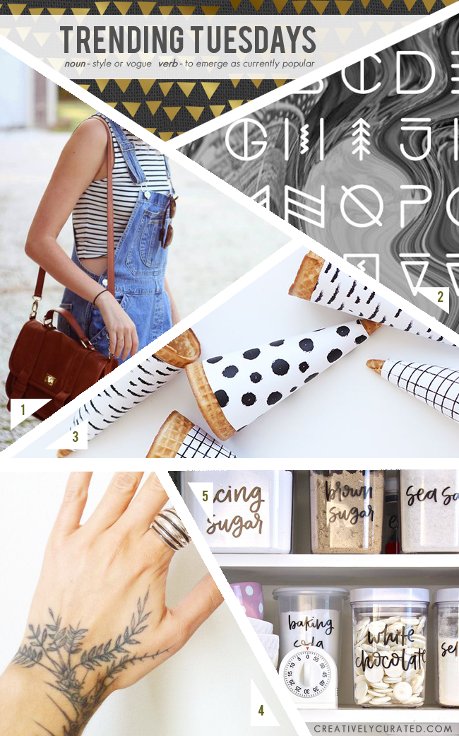 Trending Tuesdays 5 : Things I like shared on CreativelyCurated.com #linklove #blogged #creativelycurated #sandidevenny