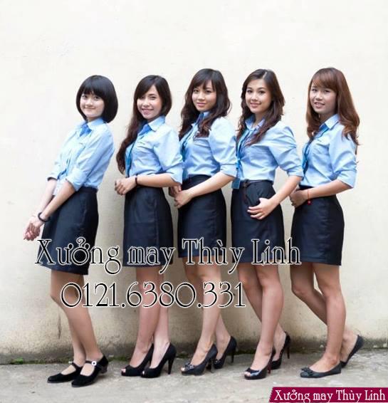 địa chỉ may áo sơ đồng phục ở Hà Nội