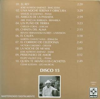 Antonio Aguilar - Mi Historia Disco 15