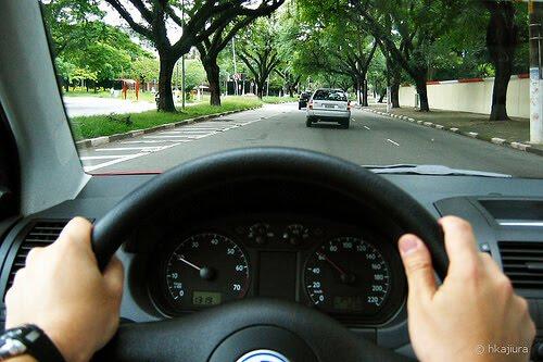 gayat ketika memandu