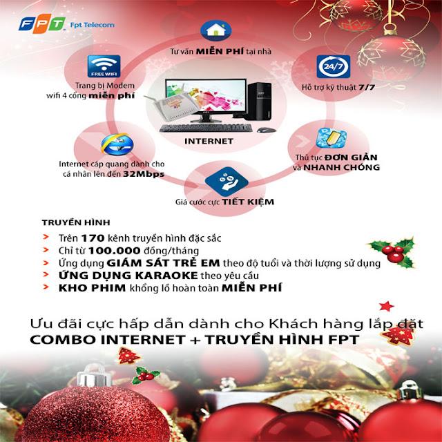 Chương Trình Khuyến Mãi Của FPT Telecom Tháng 12/2015