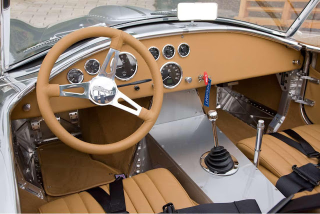 Kirkham Cobra interior